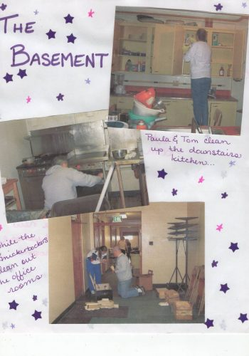 Basement Web